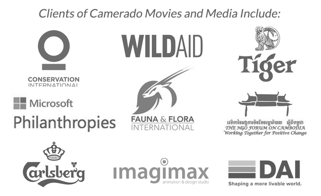 Clients of Camerado Movies and Media | www.camerado.com