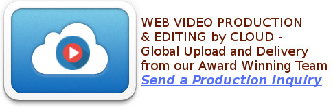 Camerado produces and edits web video, marketing videos for business, music videos, spots, promos and more with global delivery by Cloud